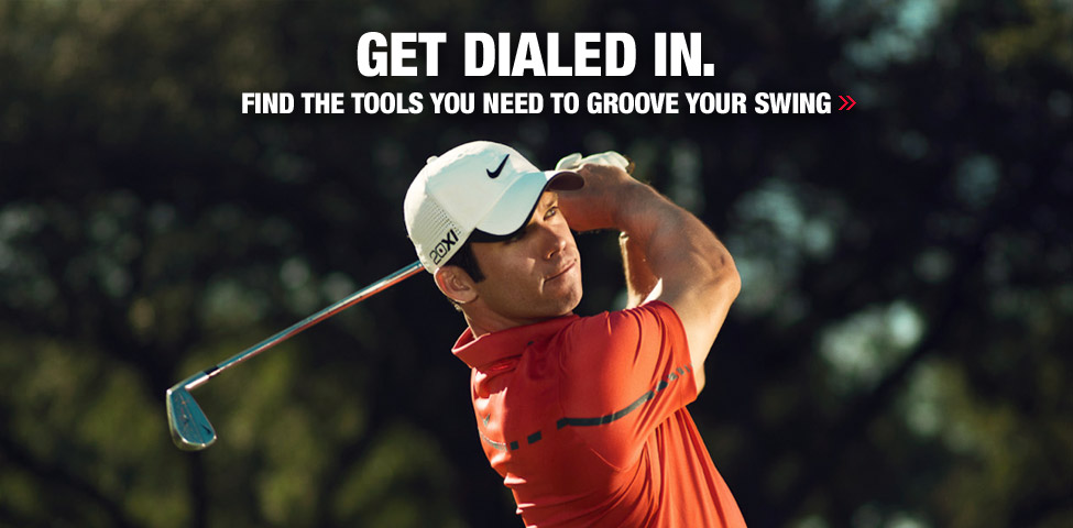 Get Dialed In. Find the tools you need to groove your swing
