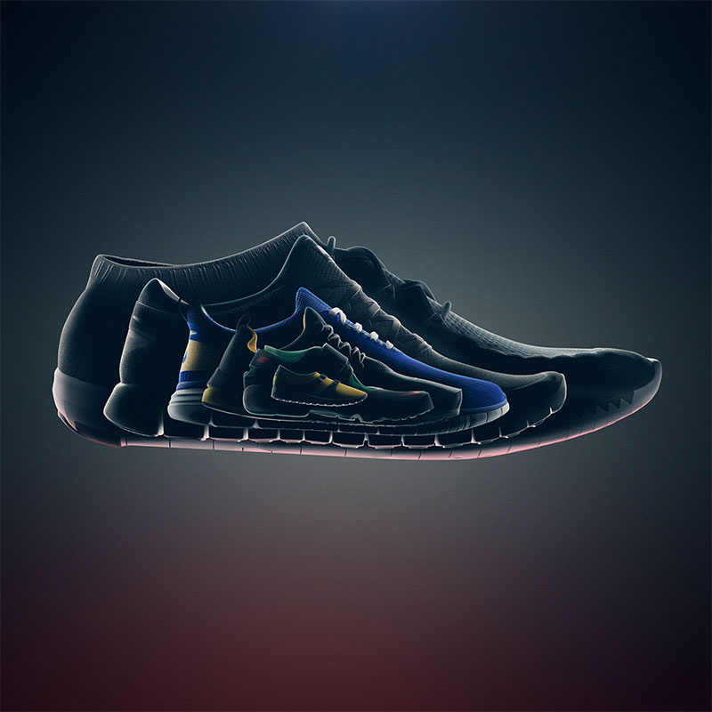 Genealogy of Nike Free